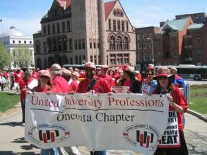 Lobbying in Albany 2014